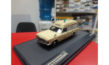 Opel Admiral B Karosserie Miessen Ambulance 1970 1:43 Matrix  Возможен обмен, масштабная модель, Mercedes-Benz, scale43