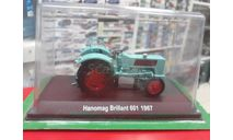 Hanomag Brillant 601 1967 1:43 Hachette, масштабная модель трактора, scale43
