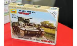 6265 Американский танк Стюарт 1:100 Звезда  возможен обмен