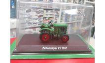 Zettelmeyer Z1 1951 1:43 Hachette, масштабная модель трактора, scale43