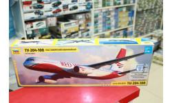 7023 Пассажирский авиалайнер Ту-204-100 1:144 Звезда Возможен обмен, сборные модели авиации, scale144