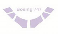 Boeing 747-400 (По прототипу) набор окрасочных масок Revell 1:144 14413 KV-Model, сборные модели авиации, 1/144