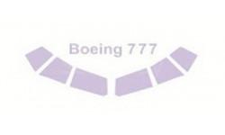 Boeing 777  (По прототипу) Eastern Express набор окрасочных масок 1:144 14416 KV-Model, сборные модели авиации, 1/144