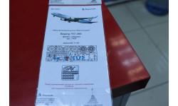 144219 Травление BOEING 767-300 (ЗВЕЗДА) 1:144  Микродизайн возможен обмен, фототравление, декали, краски, материалы, scale0