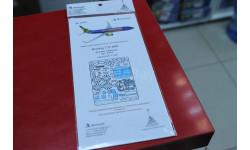 144202 Набор фототравления для Boeing 737-800 от Звезды (7019) 1:144  Микродизайн возможен обмен, фототравление, декали, краски, материалы
