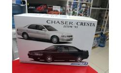 05653 Toyota Chaser/Cresta JZX90 1:24 Aoshima возможен обмен, сборная модель автомобиля, scale24