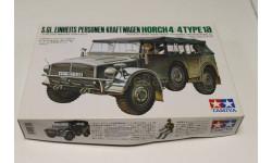 35052  Машина Horch TYPE 1A с 1ф. 1:35 tamiya, сборные модели бронетехники, танков, бтт, 1/35