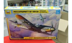 4816 Мессершмитт BF-109G6 1:48 Звезда возможен обмен, сборные модели авиации, scale48