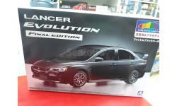 05090 Mitsubishi Lancer Evolution X Final Edition (Phantom Black Pearl 2 Tone) 1:24 Aoshima возможен обмен, сборная модель автомобиля, scale24