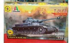 307226 Немецкий танк Т-IV F2  1:72 Моделист  возможен обмен, сборные модели бронетехники, танков, бтт, scale72