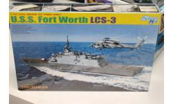 7129 U.S.S. Fort Worth LCS-3 1:700 Cybber Hobby Возможен обмен