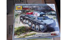 6102 Немецкий лёгкий танк Pz.Kp.fw II 1:100 Звезда возможен обмен, сборные модели бронетехники, танков, бтт, scale100