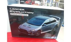 05164 Mitsubishi Lancer Evolution X Final Edition'15 1:24 Aoshima возможен обмен, сборная модель автомобиля, scale24