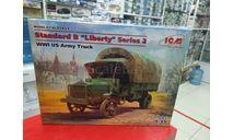 35651 Standard B Liberty 2-й серии, Американский грузовой автомобиль І МВ 1:35 ICM возможен обмен, сборная модель автомобиля, scale35