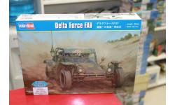 82406 автомобиль  Delta Force FAV 1:35 Hobby Boss возможен обмен, сборные модели бронетехники, танков, бтт, scale35