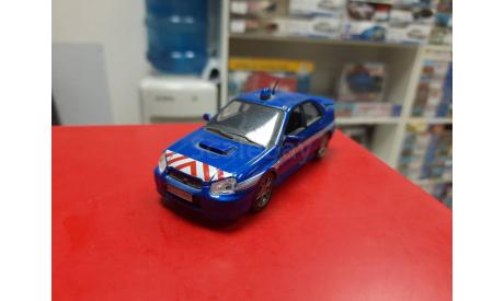 Полицейские Машины Мира №4 Subaru Impreza 1:43 Deagostini Возможен обмен, масштабная модель, scale43