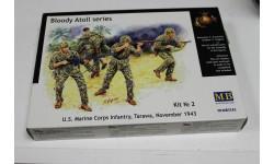 Обмен. 3543 U.S Marine Corps, Tarawa 1:35 MasterBox, миниатюры, фигуры, 1/35