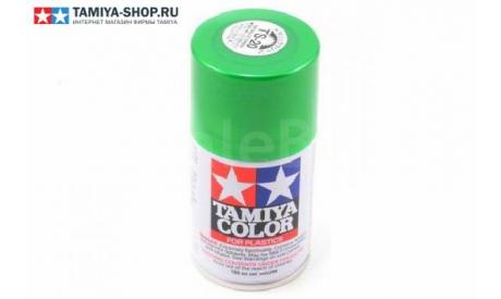 TAMIYA TS-20 Metallic Green (Зелёная металлик) краска-спрей 100 мл., фототравление, декали, краски, материалы, scale0