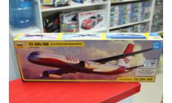 7023 Пассажирский авиалайнер Ту-204-100 1:144 Звезда  возможен обмен, сборные модели авиации, Boeing, scale144