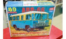 4019  Автобус повышенной проходимости АПП-66 1:43 AVD возможен обмен, сборная модель автомобиля, AVD Models, 1/43