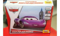 2019  'Тачки' Холли Делюкс Звезда  возможен обмен, сборная модель автомобиля, Туполев, scale0