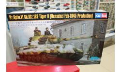84532 Pz.Kpfw.VI Sd.Kfz.182 Tiger II (Henschel Feb-1945 Production 1:35 Hobby Boss возможен обмен, сборные модели бронетехники, танков, бтт, scale35
