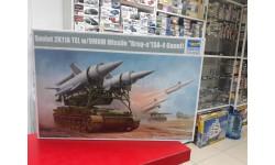 09523 Российский зенитно-ракетный комплекс 2К11А 'Круг-А' 1:35 Trumpeter возможен обмен, сборные модели бронетехники, танков, бтт, scale35