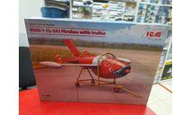 48400 KDA-1 (Q-2A) Firebee с тележкой 1:48 ICM Возможен обмен, сборные модели авиации, scale48