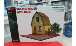 36031  Деревенский дом с основанием 1:35 Miniart  возможен обмен, элементы для диорам