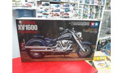 14080  Yamaha XV1600 Road Star 1:12 Tamiya возможен обмен, сборная модель мотоцикла, scale12