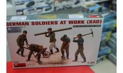35065 German Soldiers AT Work 1:35 Miniart возможен обмен, миниатюры, фигуры, scale35