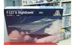 2750 самолёт F-117 A NIGHTHAWK 1:48 Italeri возможен обмен, сборные модели авиации, scale48
