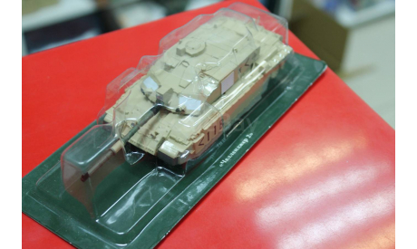 Боевые Машины Мира №5 Челленджер 2  1:72  возможен обмен, масштабные модели бронетехники, scale43