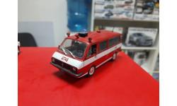 АНС РАФ-22034 пожарный с дефектом без упаковки 1:43 Deagostini обмен