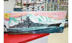 135029  линкор 'Бисмарк' 1:350 Моделист возможен обмен, сборные модели кораблей, флота
