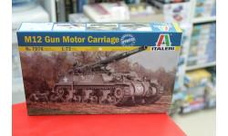 7076 САУ M12 Gun Motor Carriagе  1:72 Italeri  возможен обмен, сборные модели бронетехники, танков, бтт, Italieri, scale72