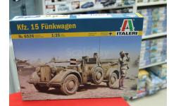 6526 автомобиль связи Kfz.15 1:35 Italeri  возможен обмен, сборные модели бронетехники, танков, бтт, Italieri, scale35