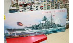 135030 линкор 'Тирпиц' 1:350 Моделист возможен обмен, сборные модели кораблей, флота