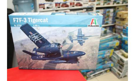 2756 самолет  F7F-3 Tigercat 1:48 Italeri возможен обмен, сборные модели авиации, scale48