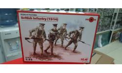 35684 Британская пехота (1914), (4 фигуры) 1:35 ICM возможен обмен
