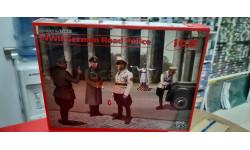 35633 Германская дорожная полиция 2МВ (5 фигур) 1:35 ICM возможен обмен