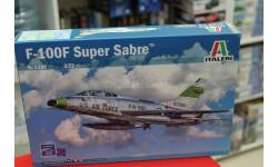 1398 самолёт F-100F SUPER SABRE 1:72 Italeri возможен обмен, сборные модели авиации, scale72