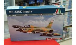 1334  самолет  MB 326 K IMPALA 1:72 Italeri возможен обмен, сборные модели авиации, scale72