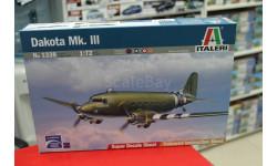 1338 самолет  DAKOTA Mk.III  1:72 Italeri возможен обмен, сборные модели авиации, scale72