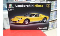 3686 LAMBORGHINI MIURA   1:24 Italeri возможен обмен, сборная модель автомобиля, scale24