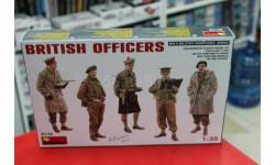 35165М 'Британские офицеры' 1:35 Miniart  возможен обмен, миниатюры, фигуры, scale35