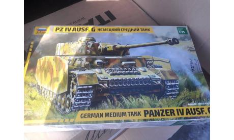 3674 Немецкий танк 'T-IV G' 1:35 Звезда возможен обмен, сборные модели бронетехники, танков, бтт, scale35