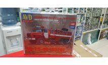 1299  автоцистерна пожарная АЦ-7,5-40 (4320) 1:43 AVD возможен обмен возможен обмен, сборная модель автомобиля, scale43