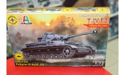 307226 Немецкий танк Т-IV F2   1:72 Моделист возможен обмен