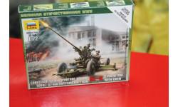 6115 Сов.37мм зенитное орудие 1:72 Звезда  Возможен обмен, сборные модели бронетехники, танков, бтт